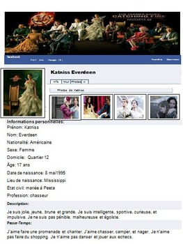 MON PROFIL FACEBOOK: French Facebook Project - Project Based Learning