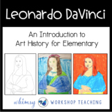 MONA LISA ART Lesson (from Art History for Elementary Bundle)