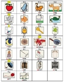 MONDO Key Word Table for Writing Folders or Table Stands (Kindergarten)