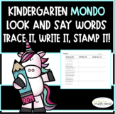 MONDO Kindergarten Trace It, Write It, Stamp It (Look and