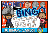 MONEY BINGO GAME (COUNTING COINS ACTIVITY)