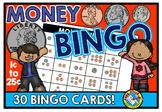 MONEY BINGO GAME (COUNTING COINS ACTIVITY)
