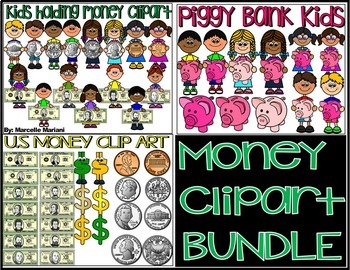 MONEY CLIP ART BUNDLE