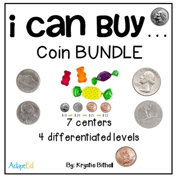 MONEY Coin Counting Purchasing Center BUNDLE