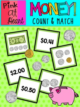 MONEY! Count and Match