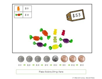 MONEY: Dimes and Pennies Coin Counting Purchasing Center
