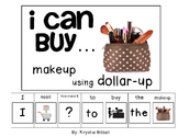 MONEY: I Can Buy... Makeup Dollar Up Adapted Book Autism