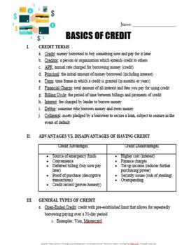 MONEY MANAGEMENT BUNDLE - Personal Finance Lessons Suitable for All Students!