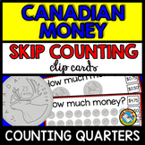 MONEY MATH CENTER (COUNTING MONEY: CANADIAN MONEY SKIP COU