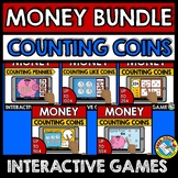 MONEY MATH GAMES BOOM CARDS COUNTING MONEY GAMES (LIKE COI
