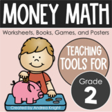 MONEY MATH - Worksheets, Games, & Books for 2nd Grade