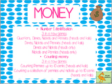 MONEY MONEY: IDENTIFYING COINS AND COUNTING PENNIES and NI
