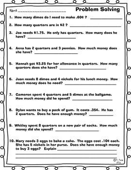 MONEY, MONEY, MONEY - NO PREP UNIT