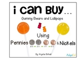 MONEY: Nickels and Pennies Coin Counting Purchasing Center