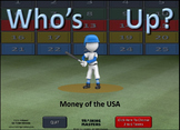 MONEY OF THE U.S.A.  -  A Who's Up? Game