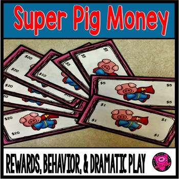 Super Heroes Classroom Money for Behavior and Rewards