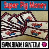 Dramatic Play Money Pig Theme