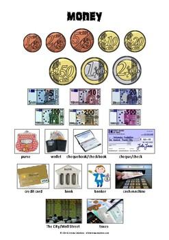 MONEY - PICTIONARY
