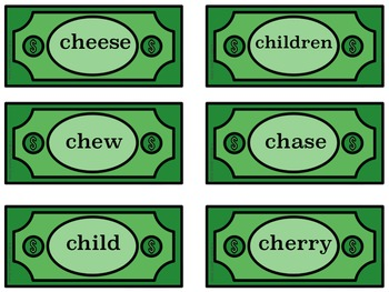 """MONEY WALLET """"CH"""" SPEECH THERAPY"""
