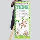 MONKEYS - Classroom Decor: LARGE BANNER, Before You Speak THINK