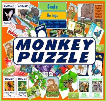 MONKEY PUZZLE STORY RESOURCES LITERACY READING EYFS KS 1-2 ANIMALS