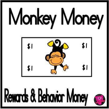 MONKEYS CHARACTER EDUCATION REWARDS and BEHAVIOR SET