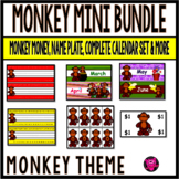 MONKEYS  Classroom Decor Set