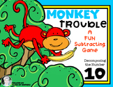 Decomposing Numbers: Monkey Trouble Math Game for Kindergarten & First Grade