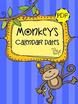 MONKEYS - Calendar Dates