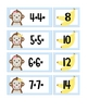MONKEYS! Centers for kindergarten, first, second, math & literacy