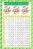 MONKEYS - Classroom Decor: Multiplication POSTER - size 24 x 36