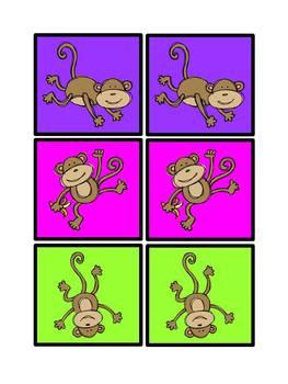 MONKEYS - Matching Game