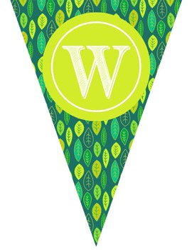 MONKEYS theme - Classroom Decor - Triangle Banners, CREATE a BANNER