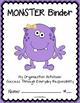 MONSTER Binder {Student Organization Folder}