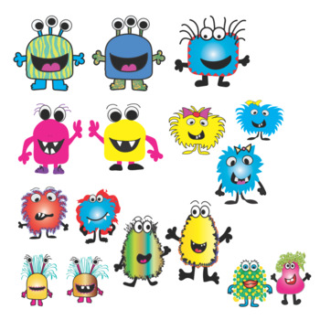 MONSTER CLIP ART BY THE DOGGED ARTIST
