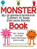 MONSTER Communication Folder