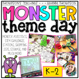 MONSTER DAY Room Transformation and Centers