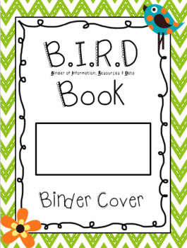 BIRD Book Daily Communication Cover