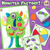 MONSTER FACTORY! Roll or Spin A Monster PRINT & PLAY Game
