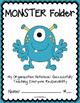 MONSTER Folder {Student Organization Folder}