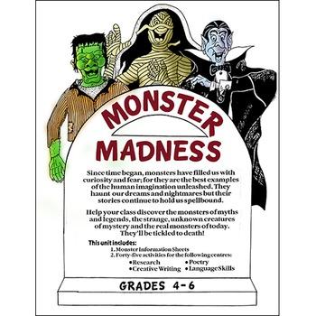 MONSTER MADNESS Gr. 4-6