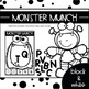 MONSTER MUNCH {Uppercase, Lowercase & Mixed-Case Letter Recognition Activity}