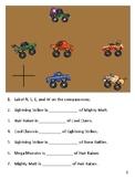 MONSTER TRUCK - CARDINAL DIRECTIONS PRACTICE