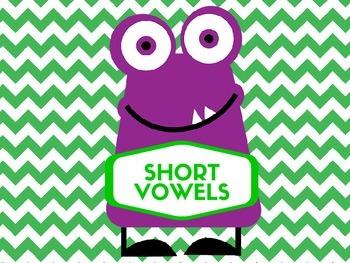 MONSTER Vowel Word Hunt: Long and Short Vowel Practice
