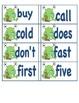 MONSTER theme Dolch list 1st-3rd grade