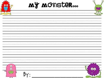 MONSTER writing templates