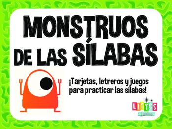 MONSTRUOS DE SILABAS Workstation - Spanish
