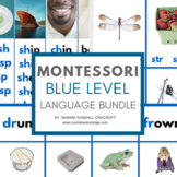 MONTESSORI Blue Level Language Materials PACK UPDATED