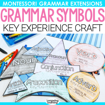 Montessori Grammar Symbols Bundle By Longwing Montessori Tpt