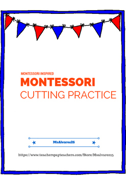MONTESSORI INSPIRED CUTTING PRACTICE